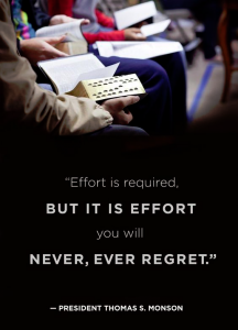 Effort is NEVER Wasted