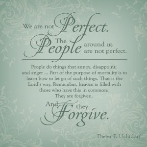 Choose Today to Forgive